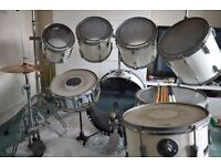 Premier Royale Drum Kit - White 8 Piece No Cymbals see separate listings