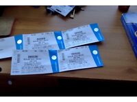 4 X Bon iver Tickets. Can be sold in individually £50 per ticket.