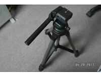 CAMERA AND VIDEO TRIPOD ECELLENT CONDITION USED FEW TIMES £10.00