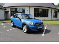 2012 Mini Countryman One 1.6 Diesel Low Miles 59,000 FSH Full MOT Only 2 Owners Must Be Seen