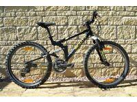 "Scott Gravity 240, 24"" Wheels, Full Suspension Mountain Bike."