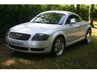 AUDI TT COUPE BLACK LEATHER FULL STAGE 1 CONVERSION 265 BHP