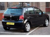VW POLO 1.2 Match Hatchback 5dr Petrol Manual 70bhp / NOT CORSA FIESTA