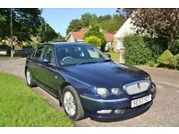 DIESEL ROVER 75 CLASSIC 2003 LONG MOT TILL MARCH 2017 RUNS AND DRIVES AMAZING -BARGAIN PRICE £1250..