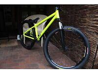 Identitti P66 custom build dirt jump bike