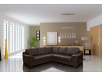 50% REDUCTION ON AMY SOFAS** LEATHER OR FABRIC SOFA SETS, CORNER SOFAS, ARMCHAIRS * FREE DELIVERY