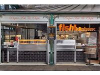 Kitchen assistant for busy take away shop in Borough Market