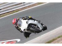 GSXR600 race prepared track bike