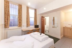 Studio Swiss Cottage for long lets £1050 pcm all bills and free WIFI