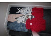 Girls clothes bundle - coat jumper leggings jeans skirt shorts mainly next 3 - 4