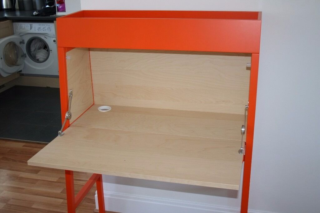 Ikea ps desk bureau drink cabinet make up table in