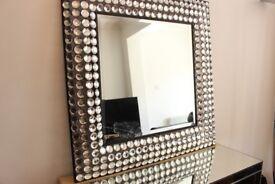 Rhinestone Mirror - quick sale!