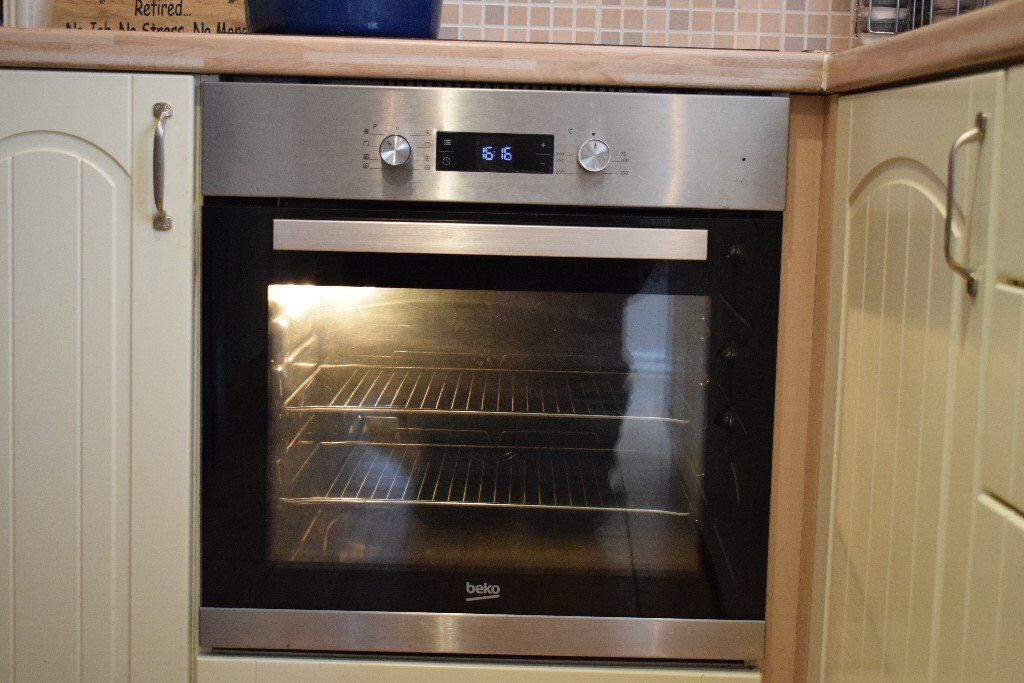 Beko Built In Oven Under Counter Or In Oven Housing