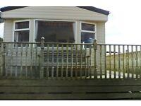 Sited in Perranporh,Cornwall. Modern, 6 berth caravan. Quiet, dog friendly site,close to amenities