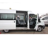 FORD TRANSIT TORNEO 9 SEAT 110 MINIBUS - 57-reg