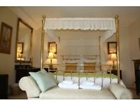 Four Poster bed drapes
