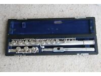 Sankyo Etude Flute with a solid silver headjoint