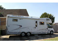 6 BERTH TOP QUALITY LUXURY GERMAN FRANKIA TWIN AXLE MOTORHOME IN EXCELLENT CONDITION