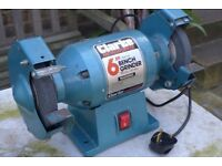 CLARKE METALWORKER 6 inch (150 mm) BENCH GRINDER. Model No. CBG 6RC. Used, but in good working order