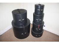 """Le Blond Drum Kit Cases 6 Piece Set 8"""" + 10"""" + 12"""" + 14"""" toms + 20"""" bass + 14"""" Snare from £18"""
