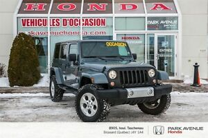 2014 Jeep Wrangler Unlimited Sahara * 4x4 * 2 toits *