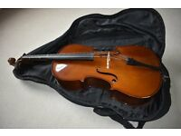 Stentor Student I cello (1/2 size) outfit