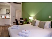 **Stylish Serviced Studio in South Kensington - All Bills, maid service, Free wifi, - Book Now!