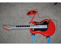 ELC Red Guitar