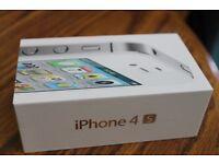 APPLE IPHONE 4S BRADN NEW CONDITION WARRANTY & SHOP RECEIPT