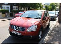 NISSAN QASHQAI 1.6 ONLY 61000 MILEAGE FOR SALE