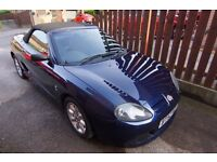2003 MG TF 115 1.6 in Royal Blue with full stainless steel exhaust and remap
