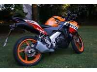 Honda CBR 125R Repsol - excellent first bike and a real head turner!
