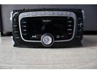FORD GALAXY MK3 S-MAX MONDEO MK4 2010-2014 SONY DAB RADIO MP3