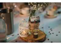 Wedding 18 Real wooden base photo/card holders