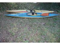 2 Slalom Kayaks