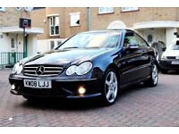 Automatic -- 2008 MERCEDES CLK 220 CDI SPORT -- Diesel -- Part Exchange Welcome -- Drives Good