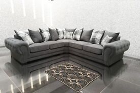 SOFA SALE PRICES : Verona corner sofa available in various colours and 3+2 SEAT SETS