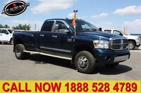 2008 Dodge Ram 3500 Laramie 4x4 Quad Cab 8 Box Dually DIESEL