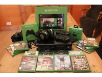 Xbox One 500GB Console bundle - 15 games inc GTA V (5), 2 x controllers, deluxe headset & charger