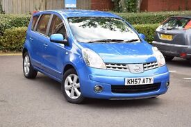 2007 NISSAN NOTE ACENTA 1.4 PETROL*3 MONTHS FREE WARRANTY*BREAKDOWN COVER*BLUETOOTH*