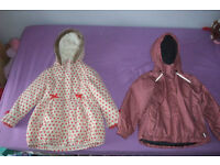 Girl's winter coats (very good condition)