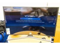 "SAMSUNG CURVED 4K UHD 40"" LCD TV. Complete With Stand and Remote."
