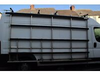 windows/glass/ garage door frail rack FIAT DUCATO, CITROEN RELAY, PEUGEOT BOXER