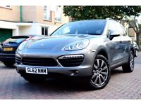 PORSCHE CAYENNE S 3.0 V6 HYBRID AUTO 5DR FSH HPI CLEAR TOP SPEC DVD PAN ROOF EXCELLENT CONDITION
