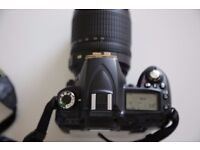 Nikon D90 camera with 18-55mm Kit Lens with accessories.Immaculate condition. All genuine products.