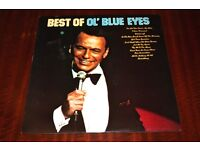 Frank Sinatra Best Of Ol' Blue Eyes Vinyl LP Record
