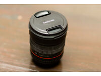 SAMYANG 85mm f/1.4 IF Lens - Canon EF in excellent condition