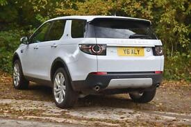 Land Rover Discovery Sport TD4 HSE LUXURY (white) 2015-10-14