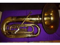 Eb Tuba by YORK with Forward Facing Bell