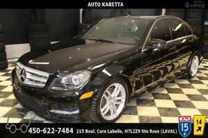2013 Mercedes-Benz C-Class C300 4MATIC/AWD BLUETOOTH, CUIR CHAUF